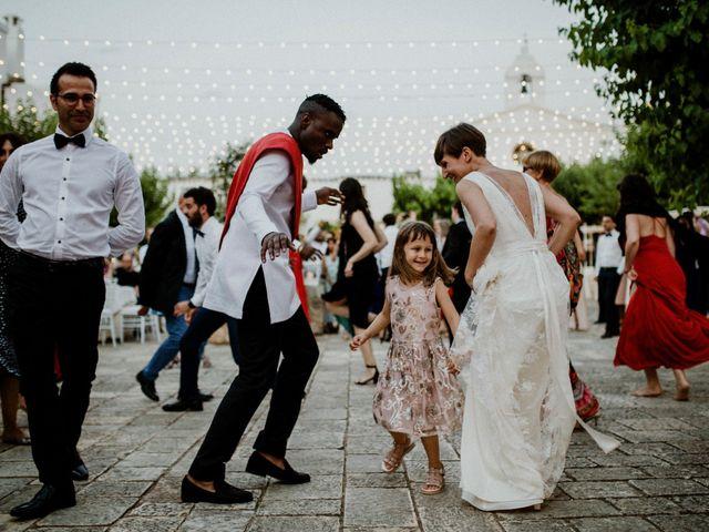Il matrimonio di Dwayne e Federica a Noci, Bari 53
