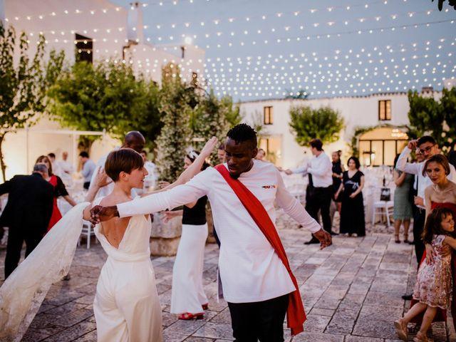 Il matrimonio di Dwayne e Federica a Noci, Bari 54