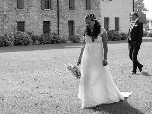 Le nozze di Tamara e Gianluca