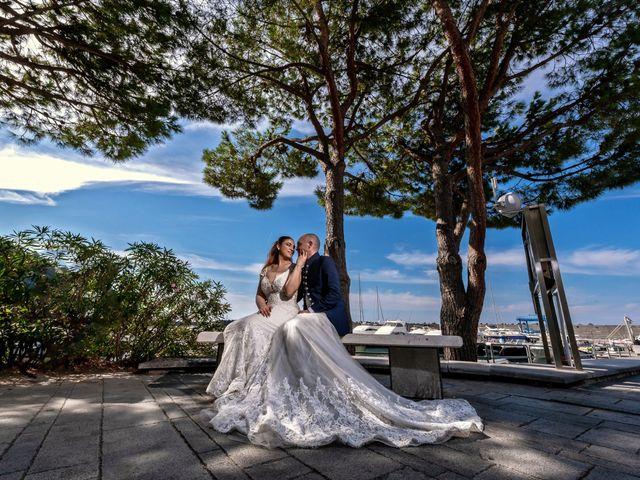Le nozze di Cristiano e Rosanna