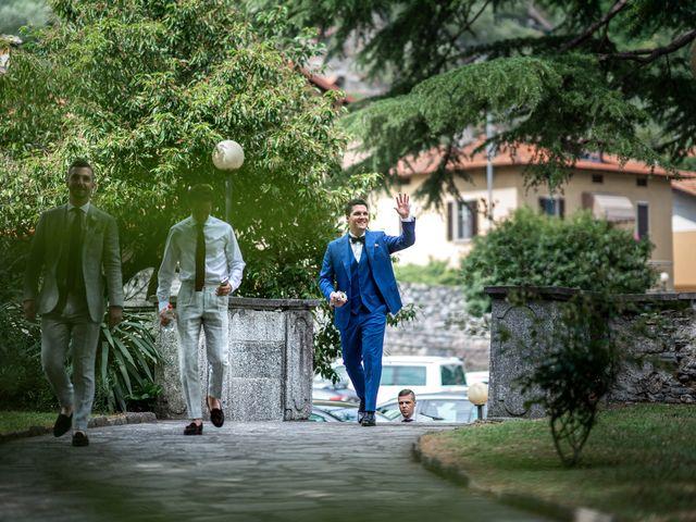 Il matrimonio di Stefan e Stephanie a Gravedona, Como 18