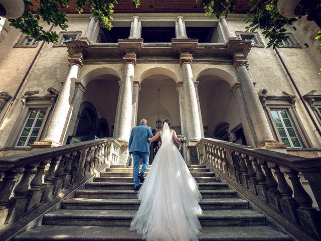 Il matrimonio di Stefan e Stephanie a Gravedona, Como 19