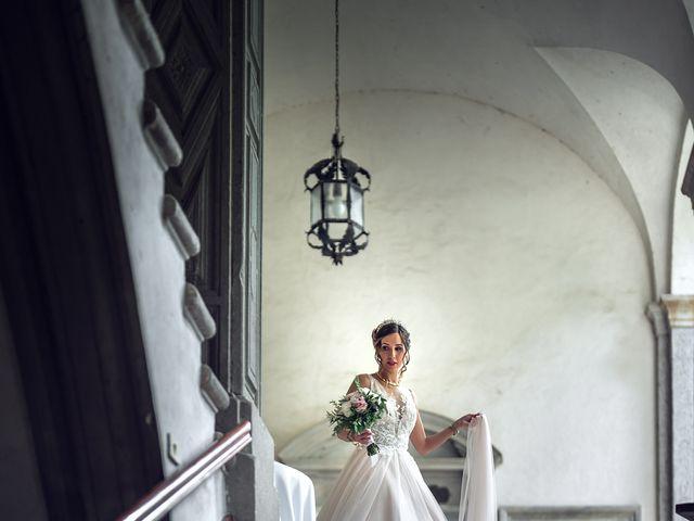 Il matrimonio di Stefan e Stephanie a Gravedona, Como 21