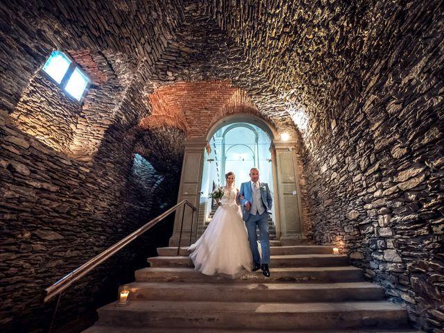 Il matrimonio di Stefan e Stephanie a Gravedona, Como 23