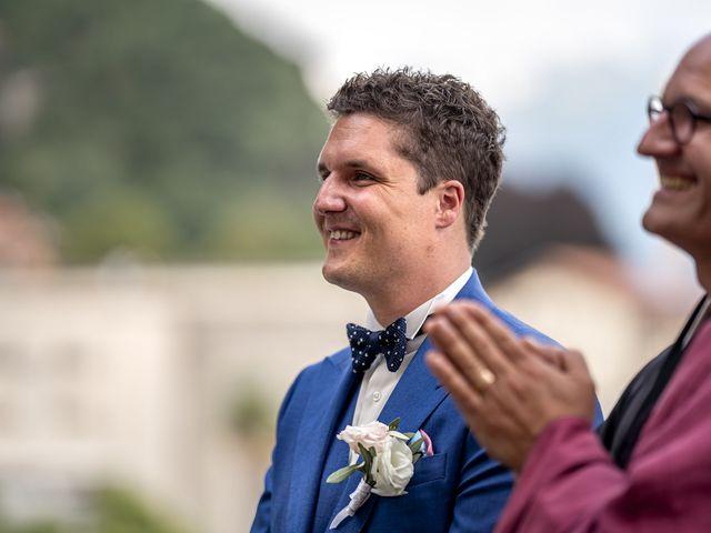 Il matrimonio di Stefan e Stephanie a Gravedona, Como 24