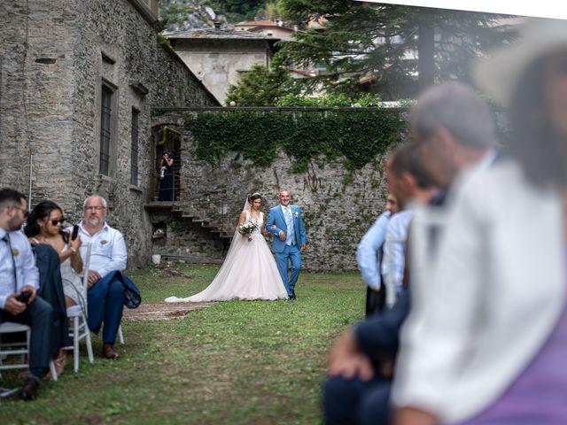 Il matrimonio di Stefan e Stephanie a Gravedona, Como 25