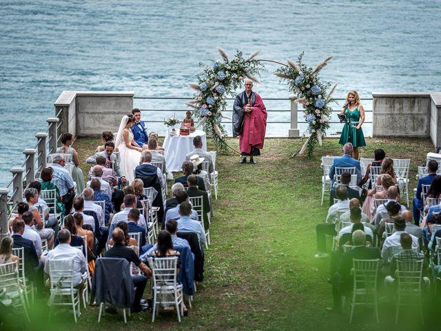 Il matrimonio di Stefan e Stephanie a Gravedona, Como 29