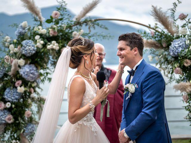 Il matrimonio di Stefan e Stephanie a Gravedona, Como 31