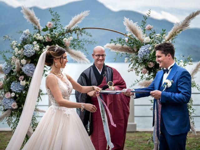 Il matrimonio di Stefan e Stephanie a Gravedona, Como 33