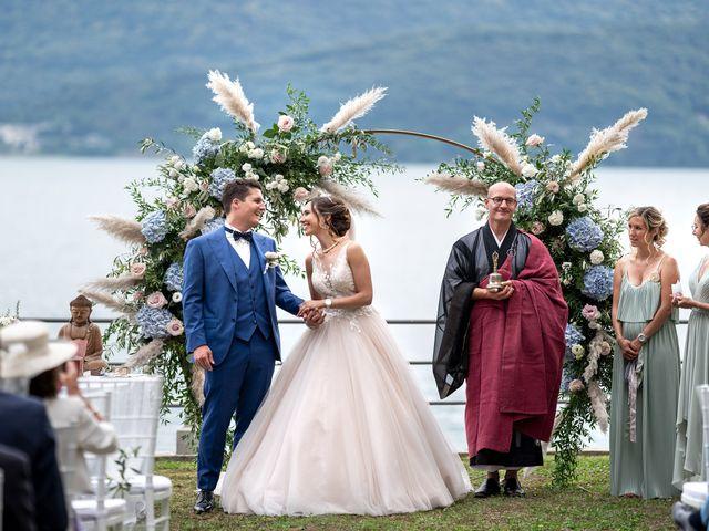 Il matrimonio di Stefan e Stephanie a Gravedona, Como 34