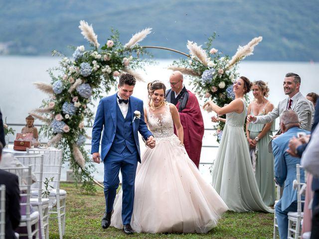 Il matrimonio di Stefan e Stephanie a Gravedona, Como 35