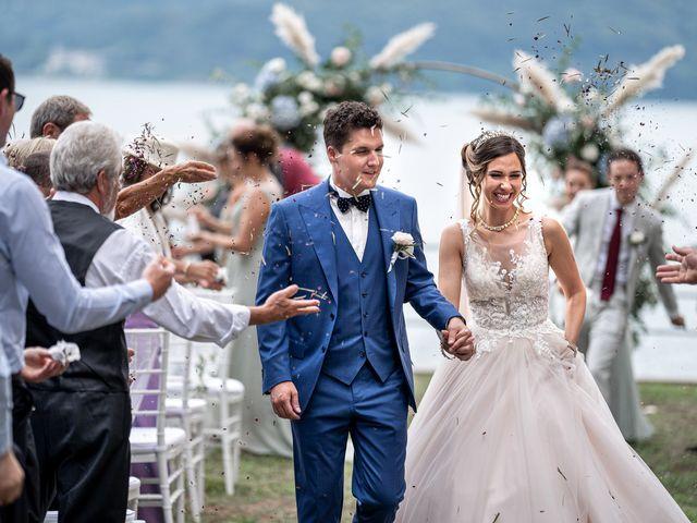 Il matrimonio di Stefan e Stephanie a Gravedona, Como 36