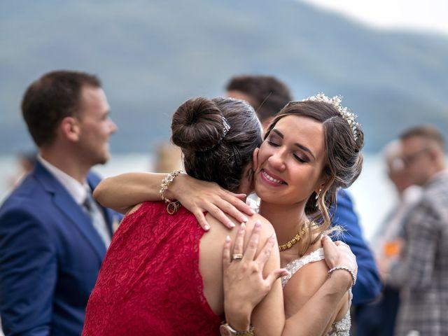 Il matrimonio di Stefan e Stephanie a Gravedona, Como 39