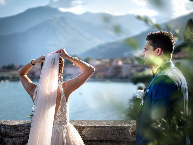 Il matrimonio di Stefan e Stephanie a Gravedona, Como 40