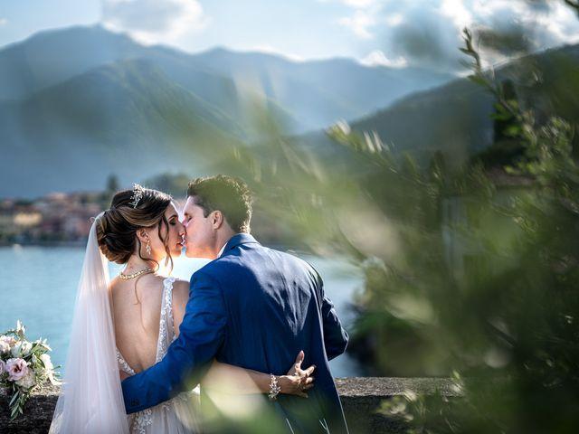 Il matrimonio di Stefan e Stephanie a Gravedona, Como 41