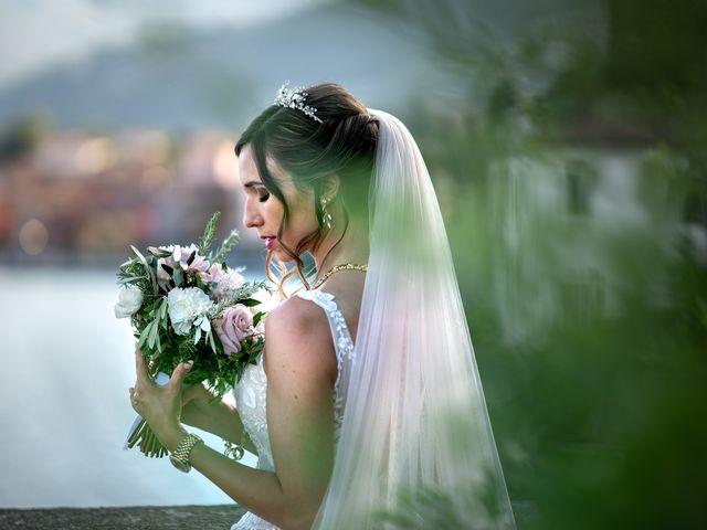 Il matrimonio di Stefan e Stephanie a Gravedona, Como 42