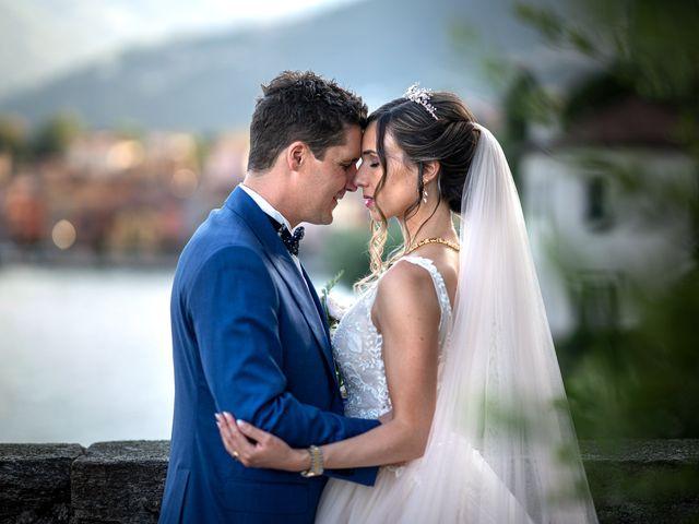 Il matrimonio di Stefan e Stephanie a Gravedona, Como 43