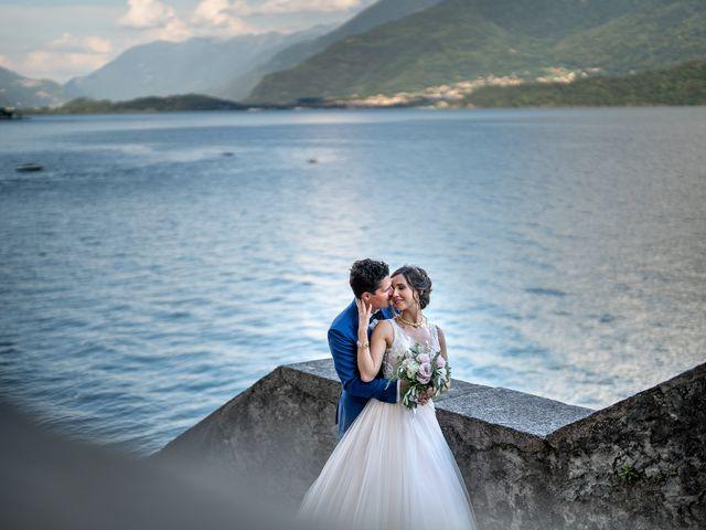 Il matrimonio di Stefan e Stephanie a Gravedona, Como 50