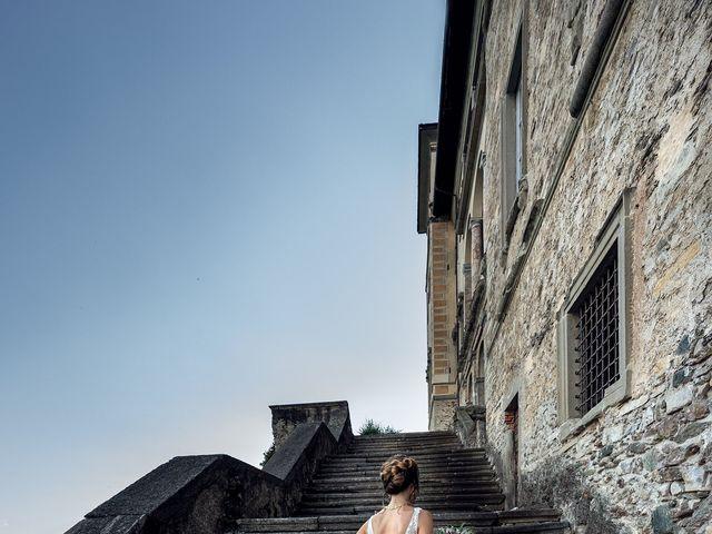 Il matrimonio di Stefan e Stephanie a Gravedona, Como 51