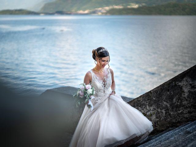 Il matrimonio di Stefan e Stephanie a Gravedona, Como 52
