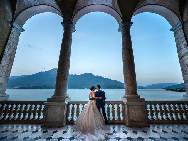 Il matrimonio di Stefan e Stephanie a Gravedona, Como 60