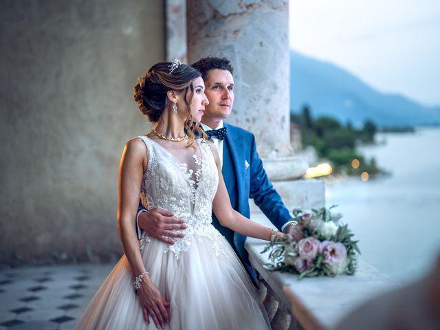Il matrimonio di Stefan e Stephanie a Gravedona, Como 61
