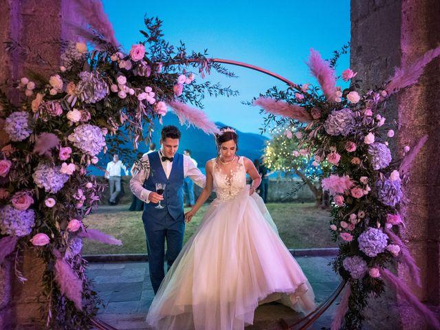 Il matrimonio di Stefan e Stephanie a Gravedona, Como 65