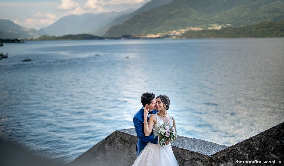 Il matrimonio di Stefan e Stephanie a Gravedona, Como