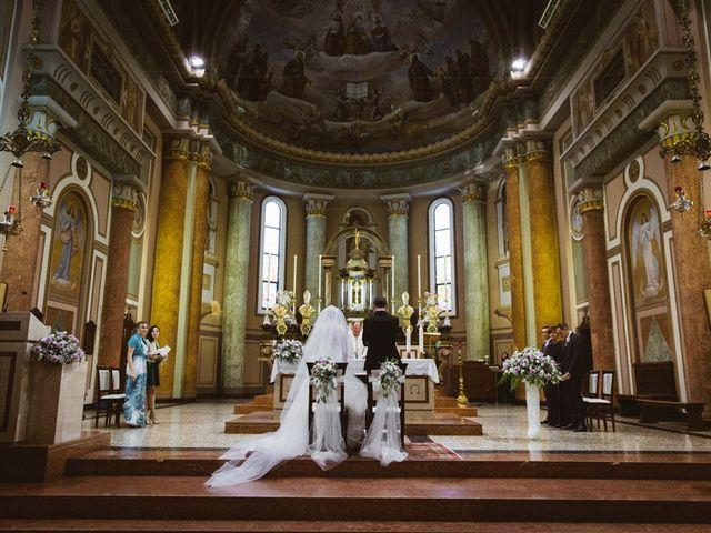 Il matrimonio di Filippo e Sara a Lonate Pozzolo, Varese 15