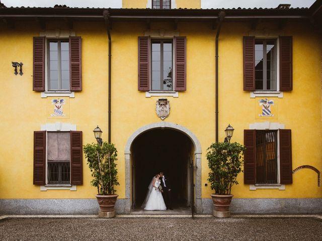 Il matrimonio di Filippo e Sara a Lonate Pozzolo, Varese 18