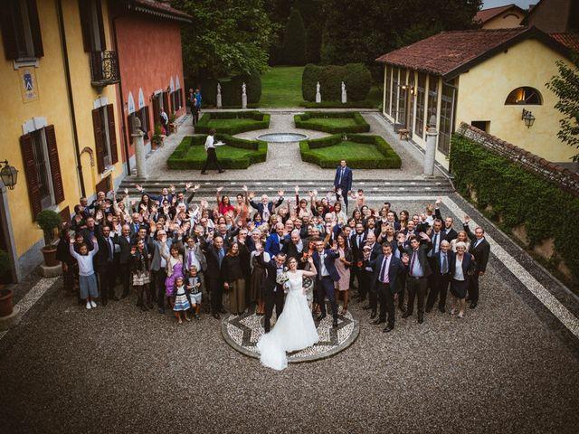 Il matrimonio di Filippo e Sara a Lonate Pozzolo, Varese 19