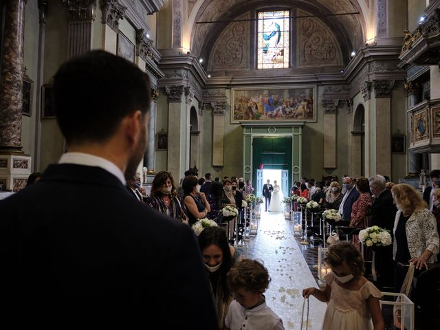 Il matrimonio di Marco e Chiara a Cazzago San Martino, Brescia 114