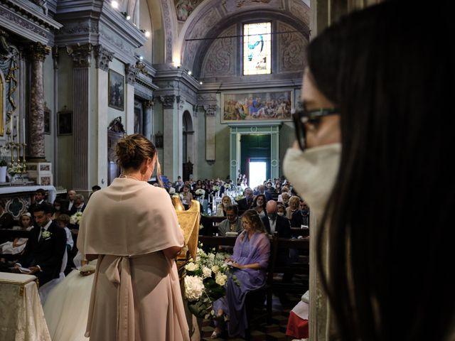 Il matrimonio di Marco e Chiara a Cazzago San Martino, Brescia 124