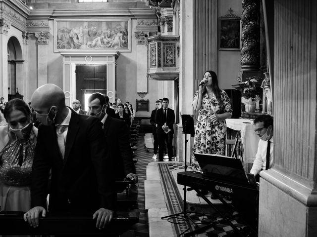 Il matrimonio di Marco e Chiara a Cazzago San Martino, Brescia 128