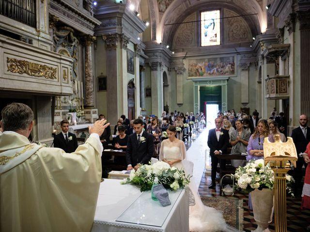 Il matrimonio di Marco e Chiara a Cazzago San Martino, Brescia 157