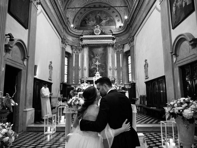 Il matrimonio di Marco e Chiara a Cazzago San Martino, Brescia 158