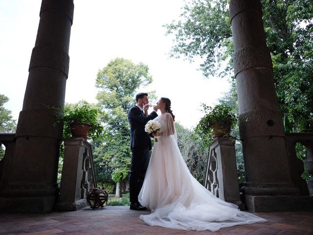Il matrimonio di Marco e Chiara a Cazzago San Martino, Brescia 183