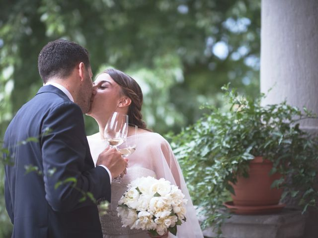 Il matrimonio di Marco e Chiara a Cazzago San Martino, Brescia 184