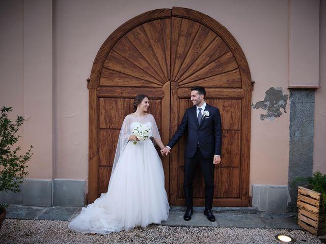 Il matrimonio di Marco e Chiara a Cazzago San Martino, Brescia 194