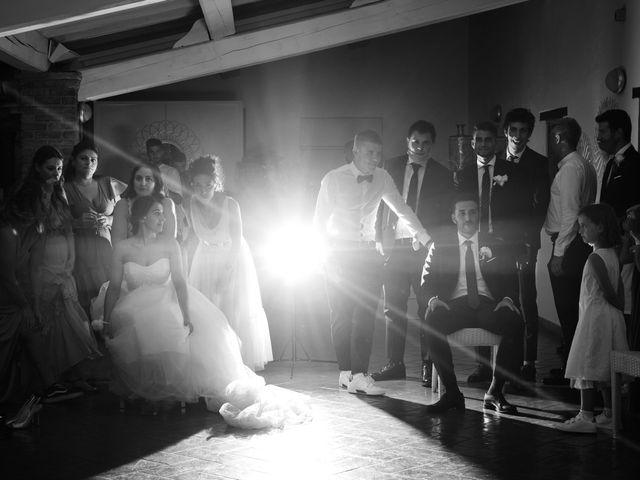 Il matrimonio di Marco e Chiara a Cazzago San Martino, Brescia 223
