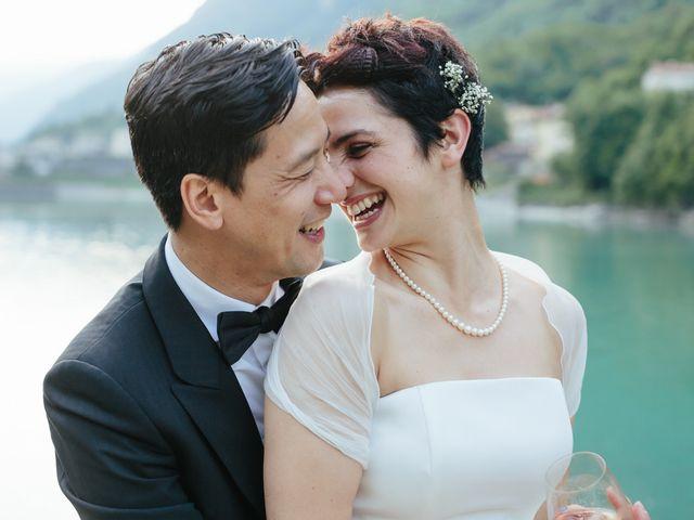 le nozze di Valentina e Terence