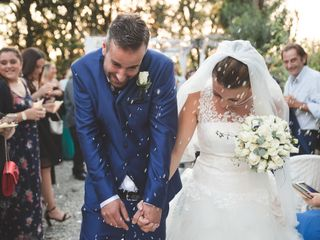 Le nozze di Jennifer e Alessio