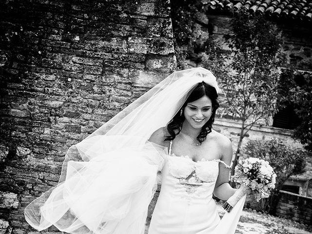 Il matrimonio di Matteo e Emma a Treia, Macerata 17