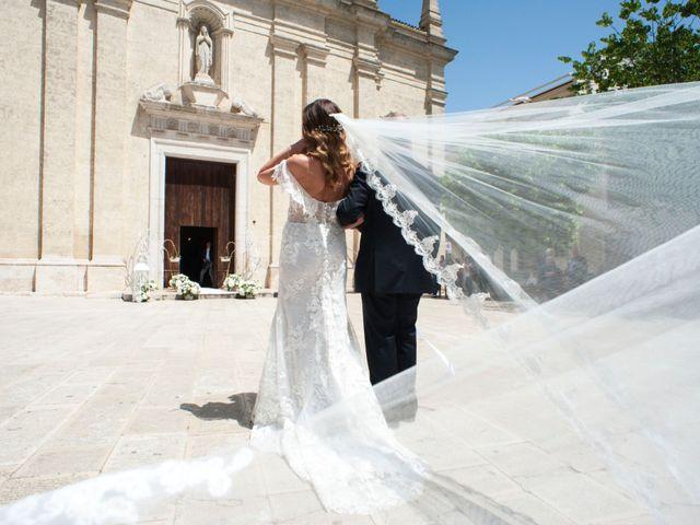 Il matrimonio di Leonardo e Maria Pia a Cassano delle Murge, Bari 8