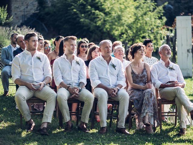 Il matrimonio di Sam e Liz a Pontremoli, Massa Carrara 16