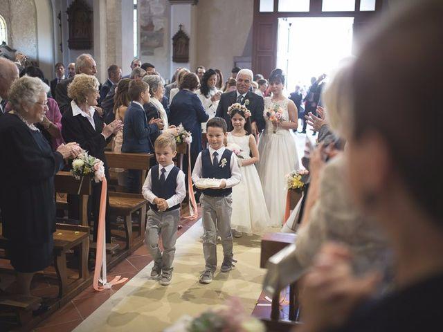 Il matrimonio di Matteo e Maristella a Vidigulfo, Pavia 21