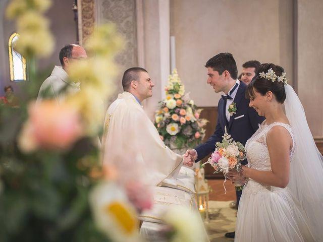 Il matrimonio di Matteo e Maristella a Vidigulfo, Pavia 25