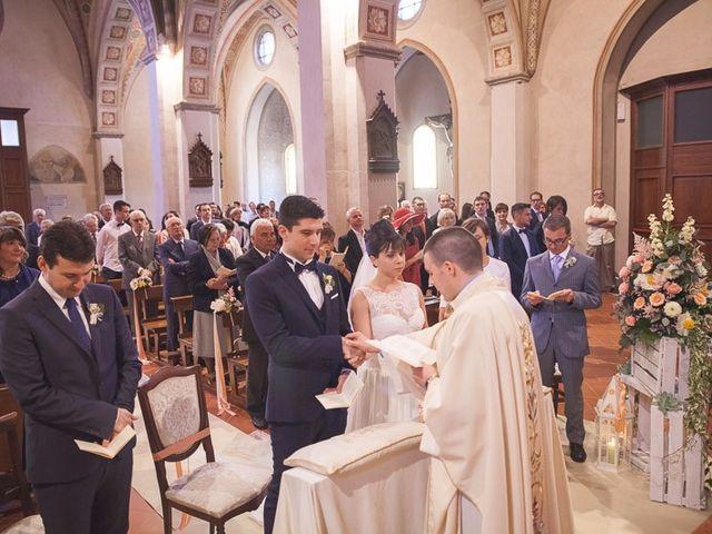 Il matrimonio di Matteo e Maristella a Vidigulfo, Pavia 30