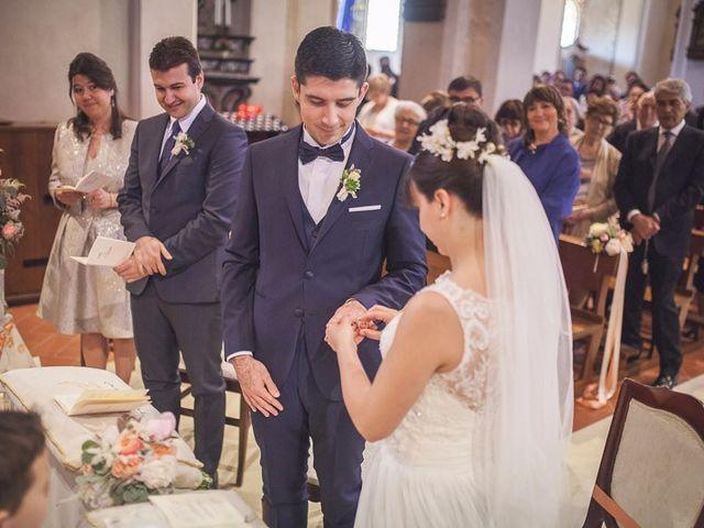 Il matrimonio di Matteo e Maristella a Vidigulfo, Pavia 34
