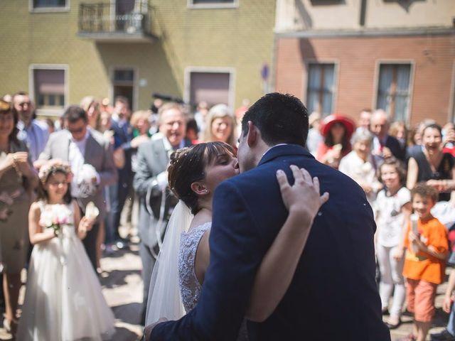 Il matrimonio di Matteo e Maristella a Vidigulfo, Pavia 38